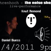 Daniel Buess u. Knut Remond - Live handbag electronics