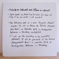 Mitarbeit | von und mit Neele Hülcker