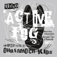 Flyer Active Fog | ohrenhoch-Kids | Artwork Knut Remond