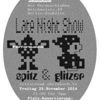 spitz & glitzer | artwork: Knut Remond