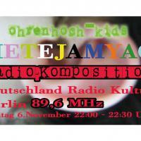 METEJAMYAC Radio-Komposition von den ohrenhoch-Kids | Artwork: Knut Remond