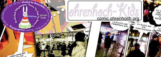 ohrenhoch kids - Comic